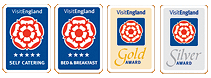 Visit England 4 Star and 5 Star Gold and Silver Awards